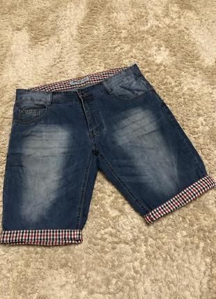 Шорти джинсові, чоловічі