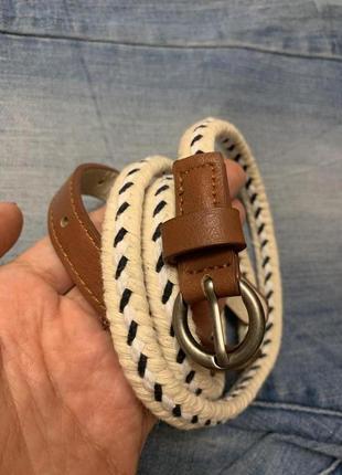Оригинальный тонкий ремешок accessorize,яркий ремень,пояс,поясок