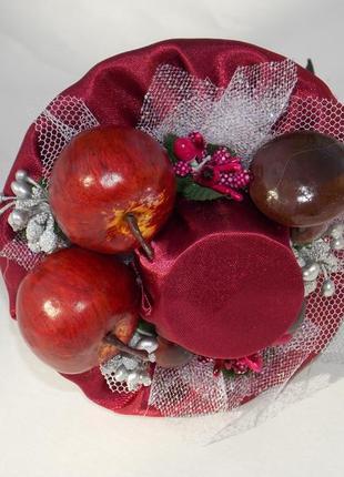Міні-шляпа чарівного яблучка