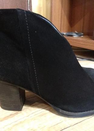 Замшеві черевички 42 розмір