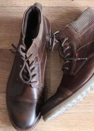 Новые кожаные ботинки carrera panamericana германия