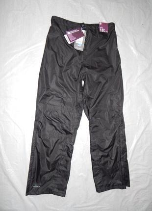 1-4 xl, непромокаемые штаны дождевик унисекс mountain warehouse, великобритания