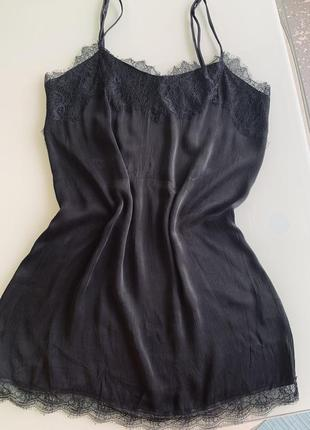 Платье из вискозы zara