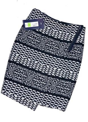 Marks & spencer. новая тёплая юбка с асимметричным кроем. л.12. 40