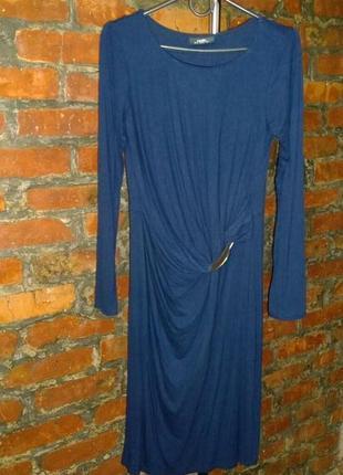Платье с драпировкой wallis