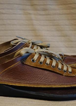 Шикарные комбинированные кожаные мокасины timberland smart comfort 10 m