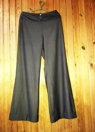 Бомбовые свободные брюки палаццо кюлоты штаны джинсы wallis cерые
