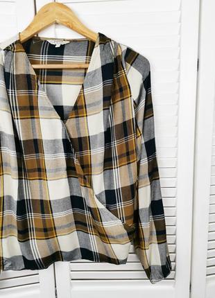 Рубашка, блуза в клетку