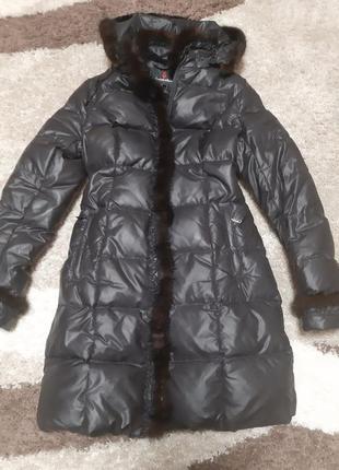 Женский пуховик пальто