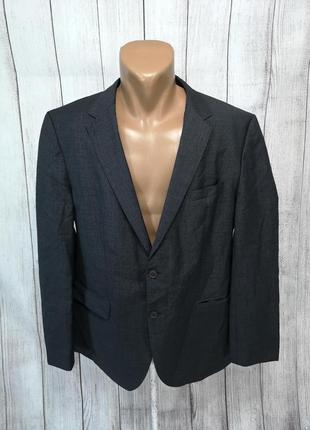 Пиджак стильный hugo boss, качественный