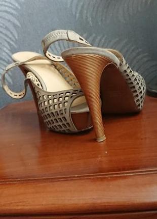 Кожаный туфли emanuele gelmetti