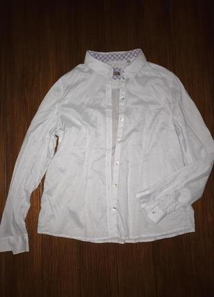 Christian berg, тончайшая приталенная батистовая блуза!