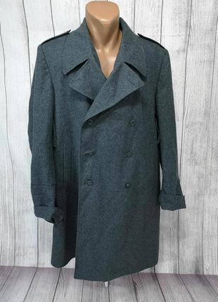 Пальто шинель шерстяная. швейцарская, сукно