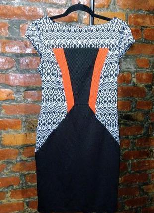 Платье из вафельного фактурного костюмного трикотажа george