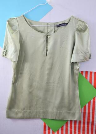 Шелковая нарядная блуза
