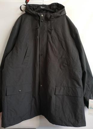Мужская водоотталкивающая деми куртка французского бренда kiabi, 4xl, сток европа оригинал