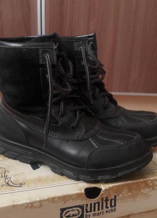 Ботинки ecko unltd демисезонные, зимние