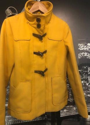 Красивое теплое пальто
