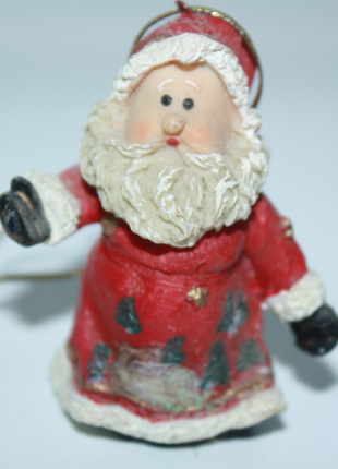 Статуэтка рождество дед мороз санта клаус