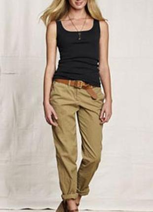 Стильные брюки штаны чиносы bershka зауженные 100% коттон