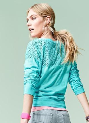 Батал блуза с кружевной отделкой в винтажном стиле размер 50-52 наш