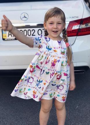 Платье детское хлопок 100%