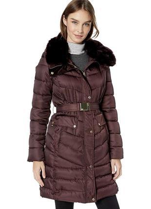 Пуховик куртка пальто женский зимний размер xs xl s стильные