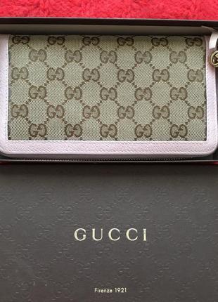 Gucci оригинал италия дизайнерский женский кошелек