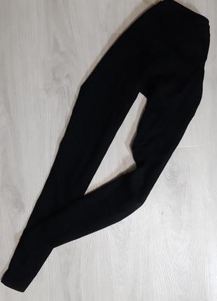 Базові чорні штани h&m
