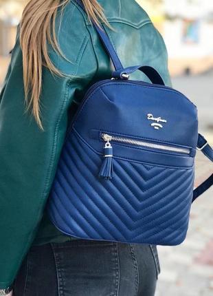 Рюкзак david jones cm5423t синий