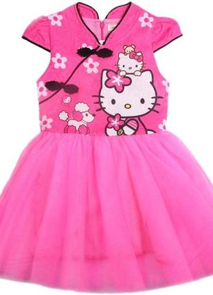 Платье для девочки с hello kitty