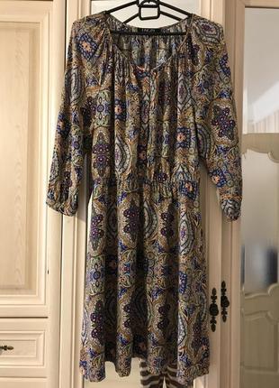 Вискозное платье в бохо, этно стиле 🎁
