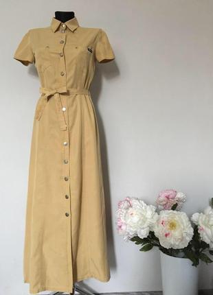 Стильное платье рубашка, сафари