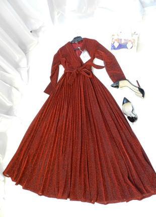⛔✅ 📹 красивенное платье с люрексом