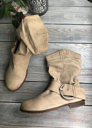 Celinni кожаные ботинки на низком ходу сапоги