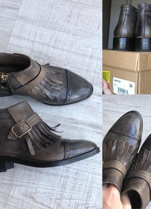Новые ботинки челси, натуральная кожа. красивый цвет. супер стильные