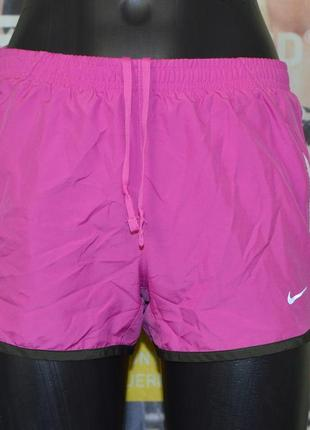 Беговые шорты nike womens dri-fit running shorts 573728-679