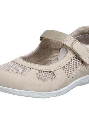 Кожаные ортопедические туфли, мокасины barefoot freedom, р.36-37 (стелька-23 см)