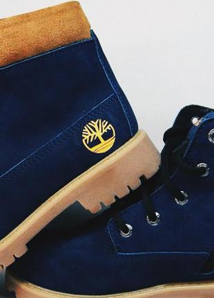 Зимние ботинки берцы timberland