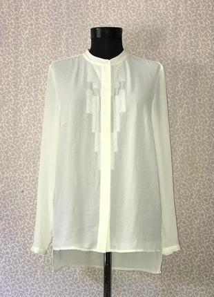 Шикарная шифоновая рубашка блуза