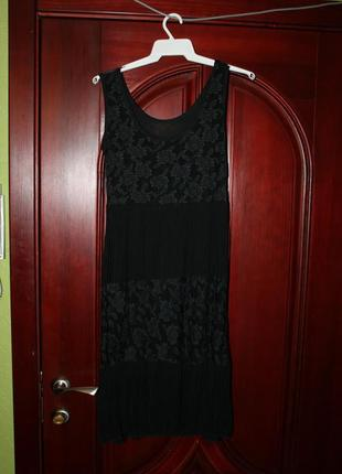 Кружевное платье, сарафан размер 44-46, италия
