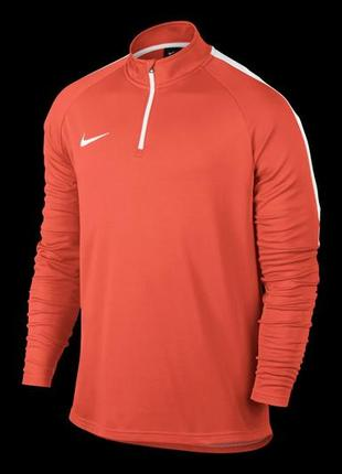 Классная кофта от nike dry academy drill top 839344-842