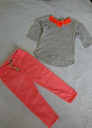 Костюм carter's комплект джинсы блуза кофточка брюки