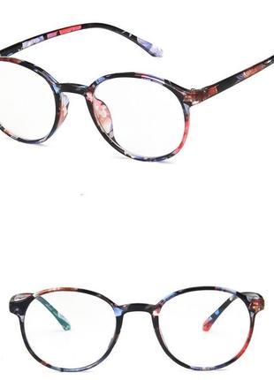 4-55 окуляри для іміджу з прозорою лінзою очки для имиджа с прозрачной линзой
