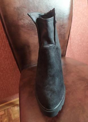 Ботиночки осенние на платформе