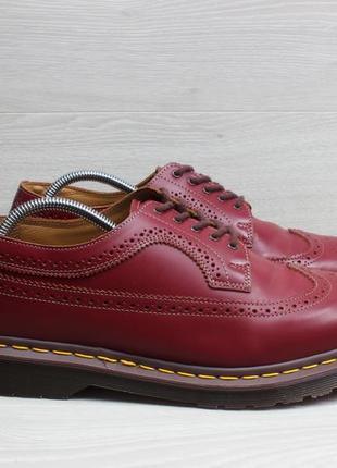 Кожаные мужские туфли dr.martens england оригинал, размер uk 10 / 44