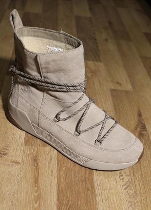 Шикарні черевички timberland оригінал ботинки кожа
