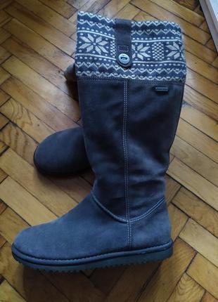 Сапоги зимние tamaris,ecco, geox,чоботи зимові,уги