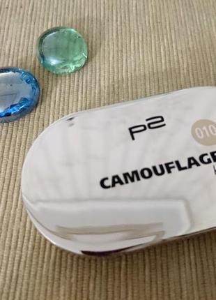 Консиллер p2-cosmetics набор корректоров для лица camouflage (австрия)