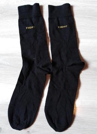 Носки плотные р. 44-46 tcm tchibo германия чёрные friday